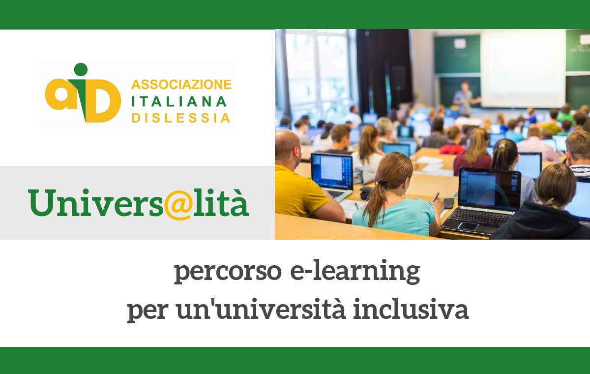 Univers@lità: percorso e-learning per un'università inclusiva