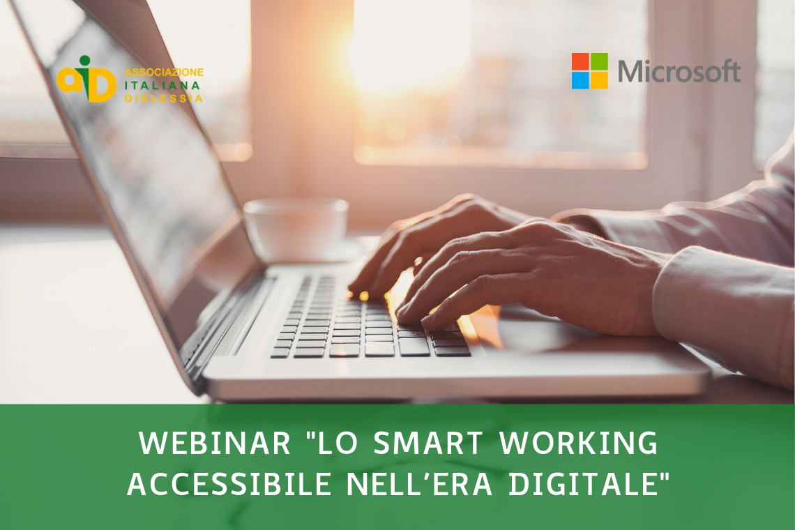 Webinar: lo smart working accessibile nell'era digitale