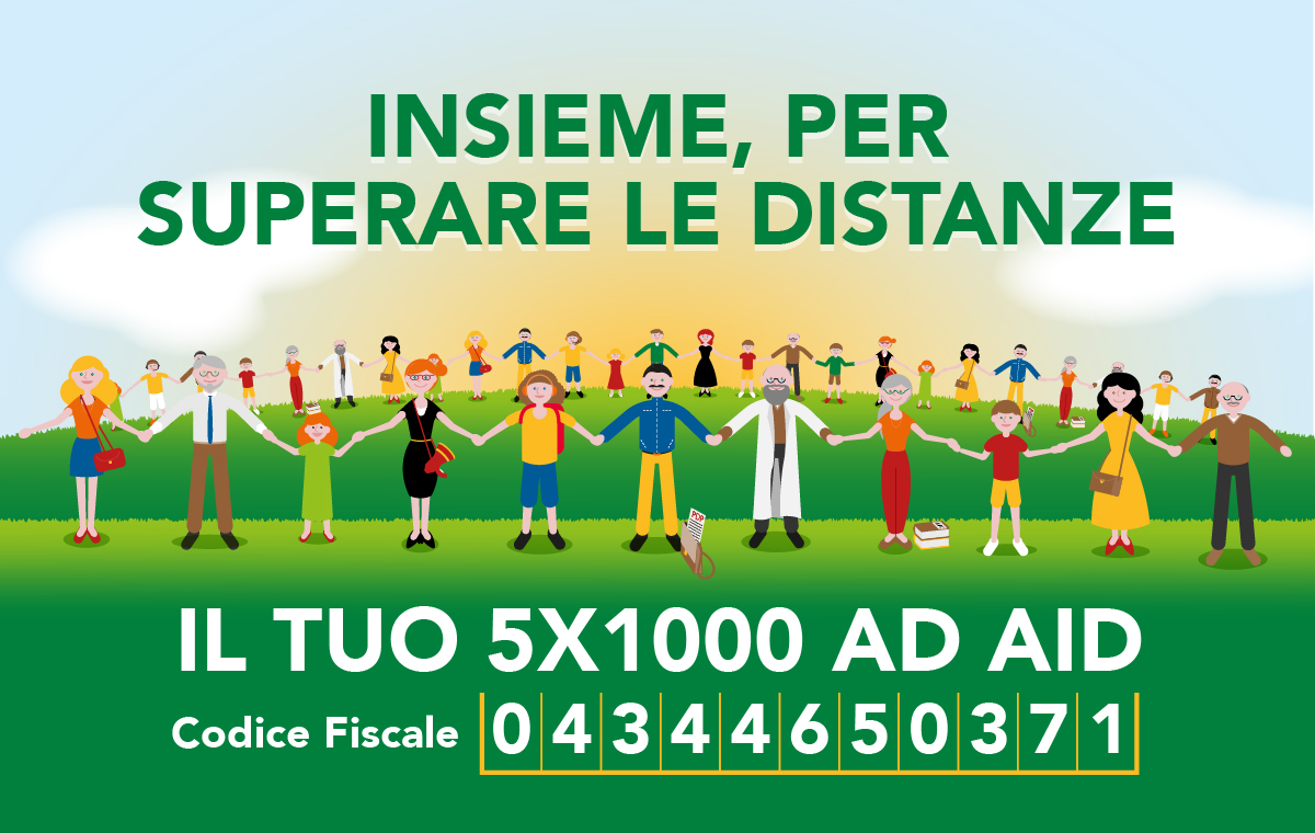 Devolvi il tuo 5x1000 ad AID
