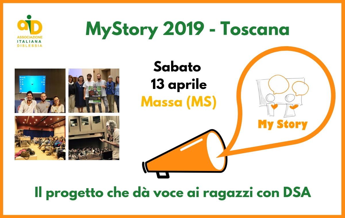 My Story 2019 in Toscana: testimonianze di giovani con DSA