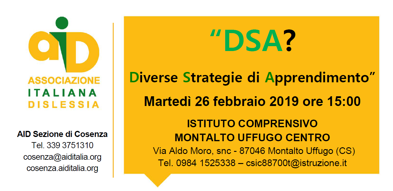 """DSA?  Diverse Strategie di Apprendimento"""