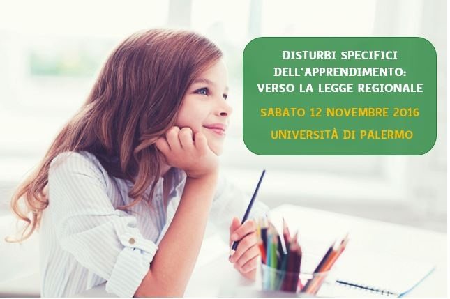 Disturbi specifici dell'Apprendimento : verso la legge regionale