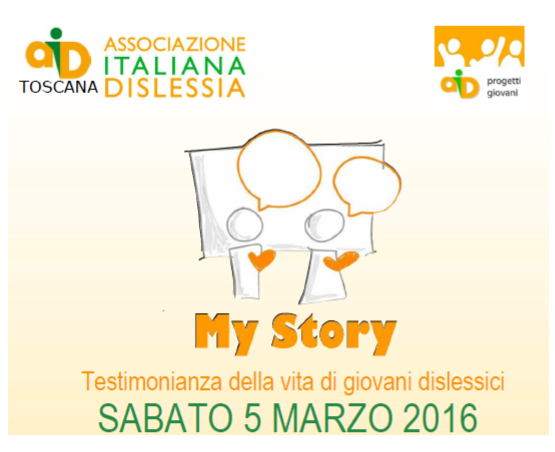 My Story: il 5 marzo a Pisa