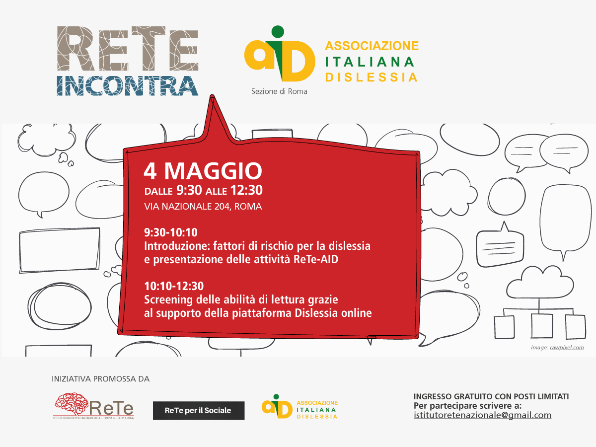 SCREENING GRATUITO DISLESSIA